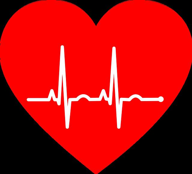 Ekg, Electrocardiogram, Heart, Art, Love, Romance