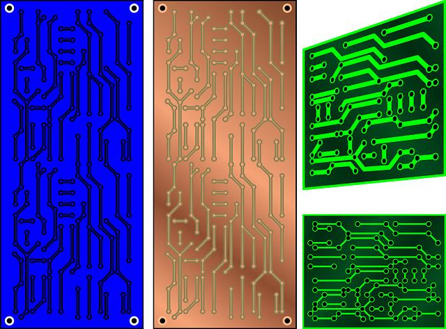 Circuit, Boards, Electronic, Printed Circuit Board, Pcb