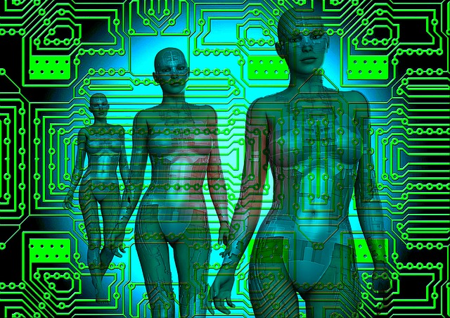 Computer, Surreal, Fantasy, Technology, Electronic