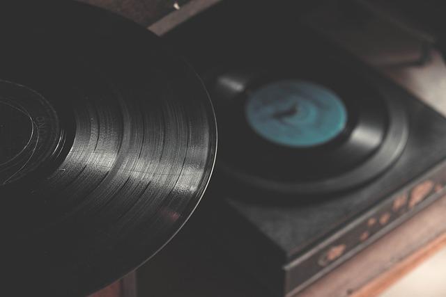 Vinyl, Turntable, Electronics, Music, Music Player