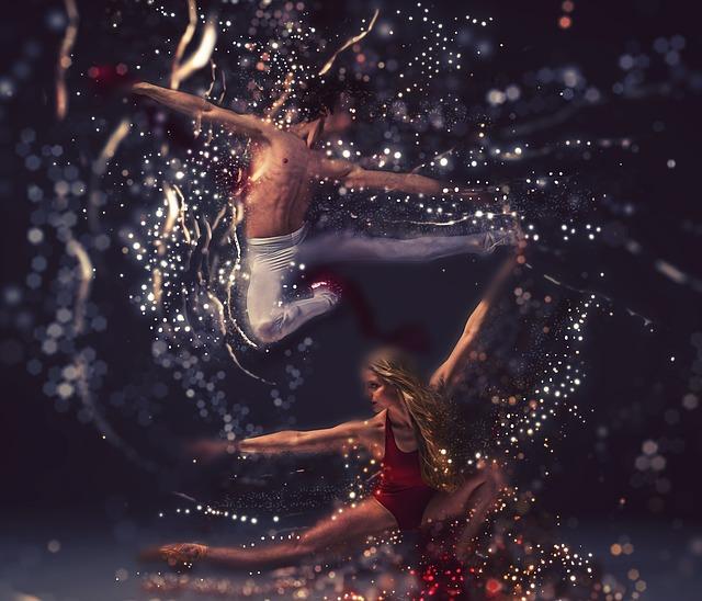 Dancers, Performance, Elegance, Motion, Dance, Movement