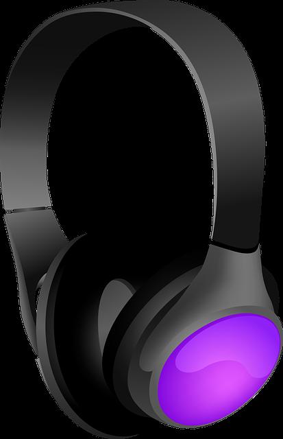 Headphones, Auricle, Transducer, Modern, Elegant