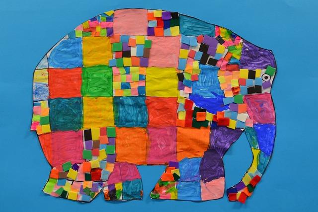 Elephant, Tinkering, Arts And Crafts Work, Animal