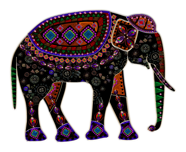 Elephant, Metallizer, Glass, Art, Factory