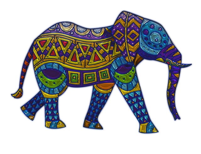 Elephant, Metallizer, Art, Glass, Factory
