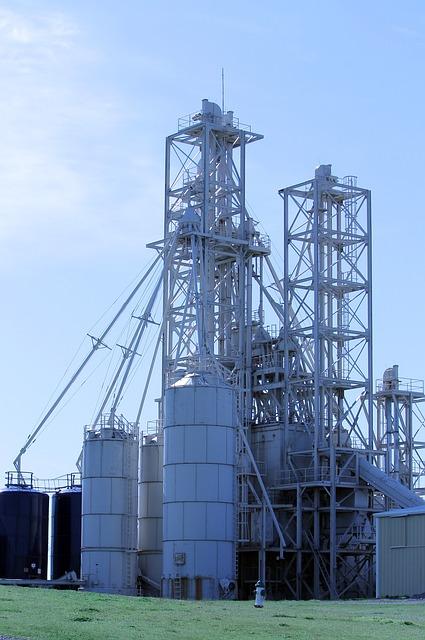 Feed, Elevator, Oklahoma, Grain Elevator, Agriculture