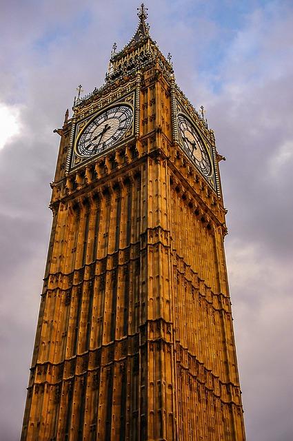 London, Big Ben, Elisabeth Tower, Elisabeth, England