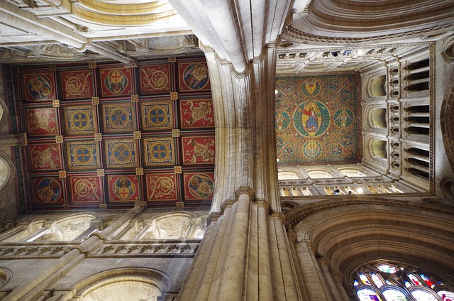Vault, Cathedral, Dom, Ely Cathedral, Church