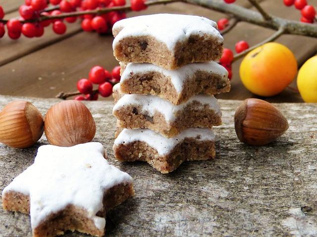 Cinnamon Stars, Advent, Christmas, Ilex, Embellishment
