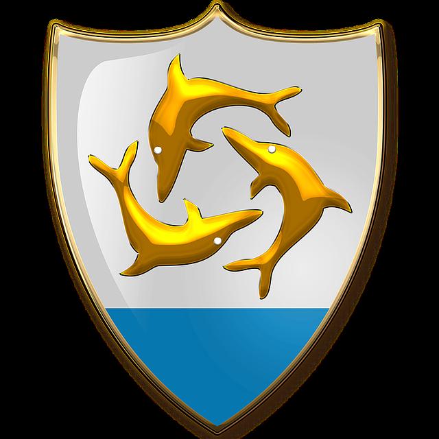 Anguilla, Coat Of Arms, Heraldry, Emblem