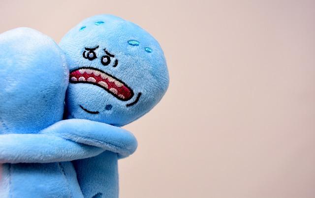Farewell, Sad, Embrace, Hug, Figure, Teddy Bear
