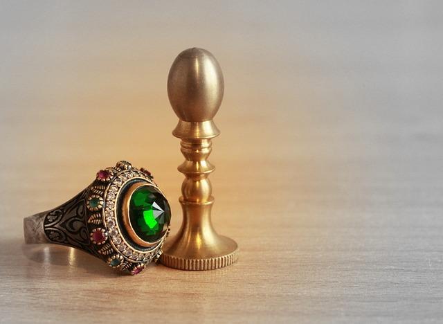 Ring, Print, Stamp, Jewelry, Emerald, Jeweler, Power