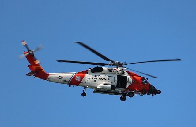 Helicopter, Coast Guard, Rescue, Emergency