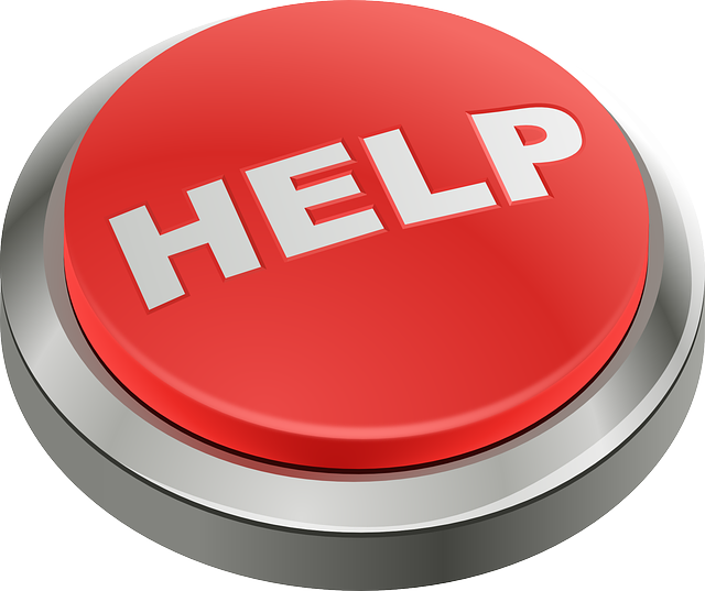 Help, Button, Red, Emergency, Support