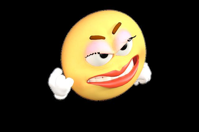 Emoticon, Emoji, Angry, Cartoon, Emotions