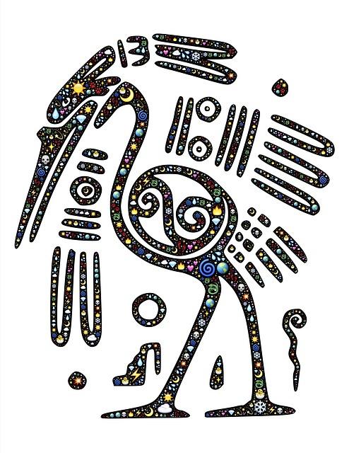 Bird, Mayan, Emoji, Nature, Colorful, Mexican, Ancient