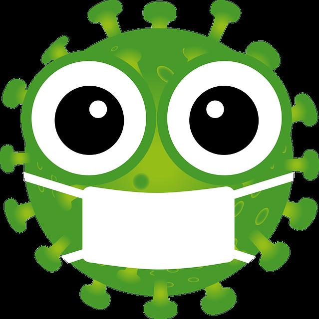 Coronavirus, Emoji, Mouth Guard, Respiratory Mask, Icon