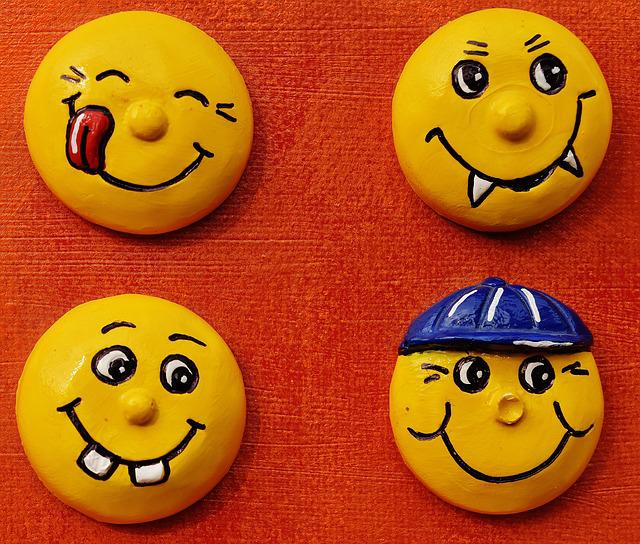 Smiley, Laugh, Hand Labor, Homemade, Funny, Emoticon