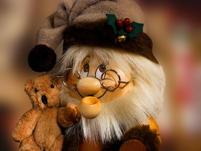 Emotions, Figure, Dwarf, Bear, Teddy Bear