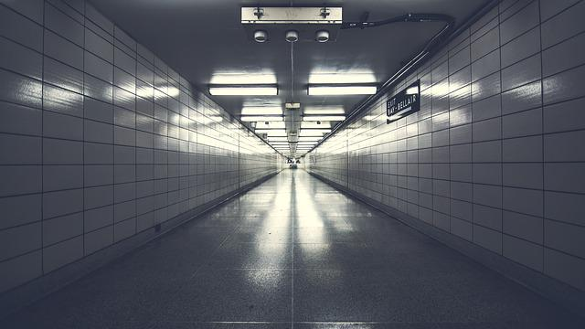 Architecture, Empty, Hallway, Indoors, Light, Passage