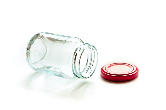 Glass Containers, Glass, Empty, Clean, Transparent