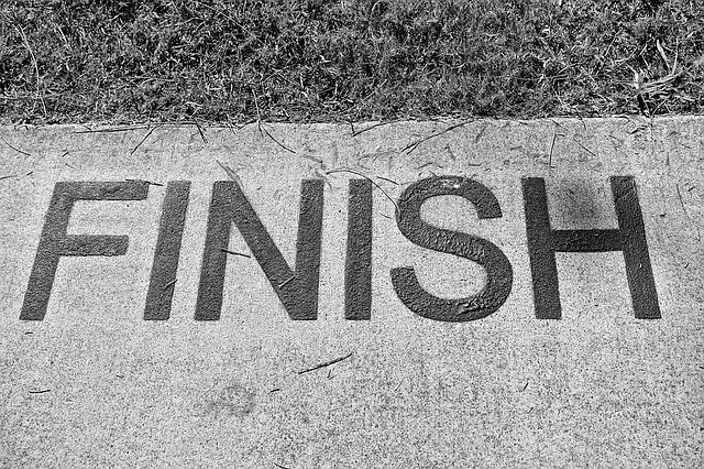 Finish, End, Completed, Completion, Finishing, Stop