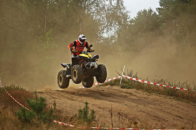 Quad, Atv, Cross, Enduro, All-terrain Vehicle