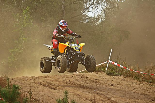 Quad, Motocross, Race, Cross, Enduro, Motorcycle