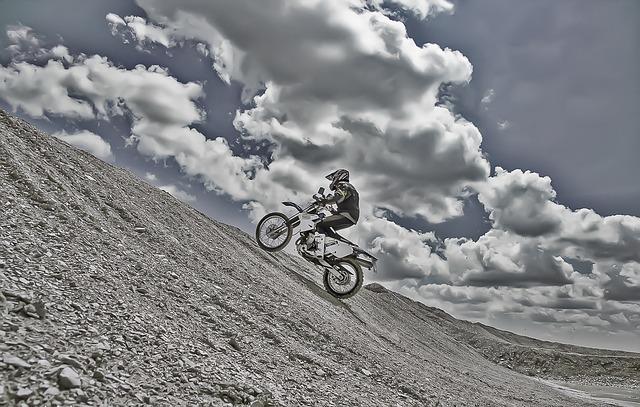 Enduro, Bike, Motorbike