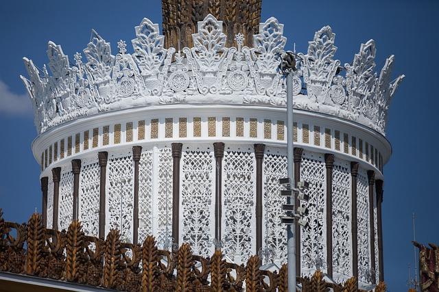 Moscow, Enea, A Fragment Of The Ukraine Pavilion