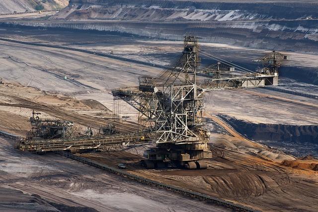 Brown Coal, Energy, Garzweiler, Bucket Wheel Excavators