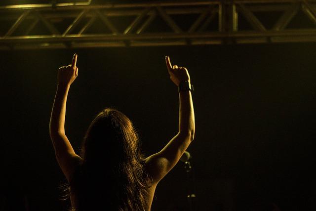 Adult, Backlit, Concert, Energy, Girl, Light