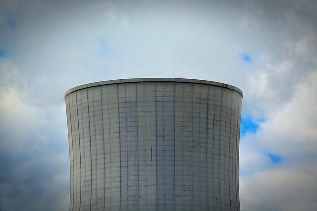 Power Plant, Cooling Tower, Energy, Technology