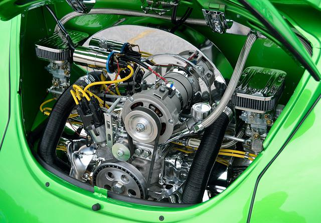Restored, Air Cool, Engine, Rear Engine, Customized