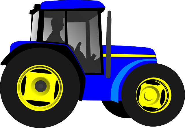 Tractor, Vehicle, Machine, Engine, Agriculture, Farmer
