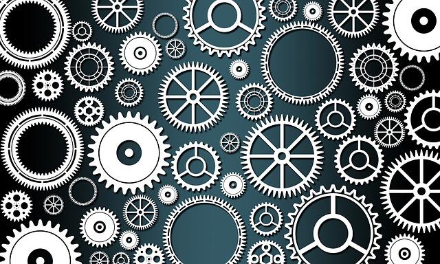 Gears, Machine, Mechanical, Engineering, Cog