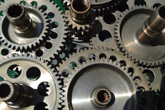 Free photo Engineering Gears Mechanical Engine Steampunk ...