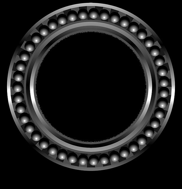 Bearing, Ball Bearing, Metal, Round, Engineering, Wheel