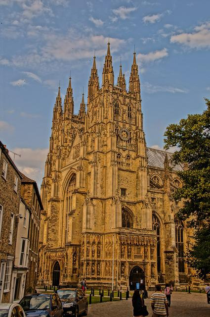 Canterbury, Cathedral, England, Uk, Kent, Architecture