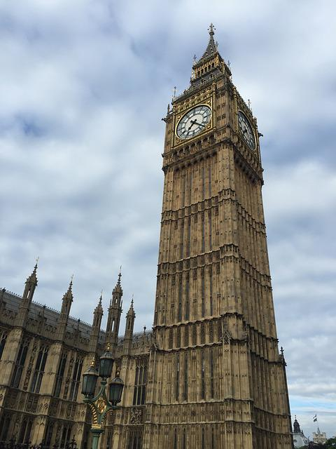 Big Ben, Westminster, Parliament, London, England