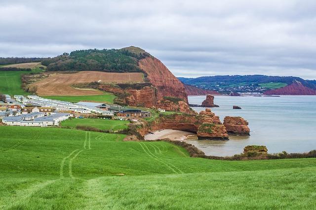 Coast, Reefs, Devon, England