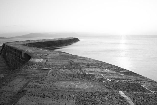 The Cobb, Lyme Regis, Dorset, Coast, England, Britain