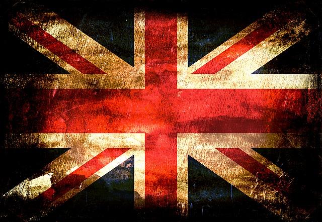 Flag, United Kingdom, England, London, Grunge