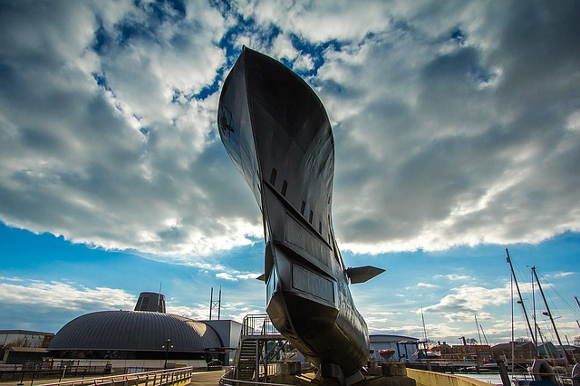 Submarine, Alliance, Gosport, England