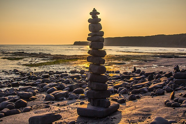 Coast, Kimmeridge Bay, Dorset, Jurassic Coast, England