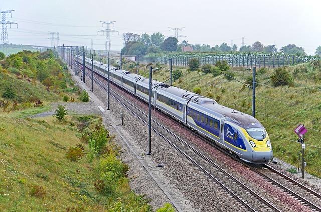 Eurostar, England, France, London - Paris