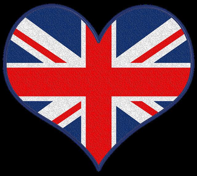 Symbole Großbritannien