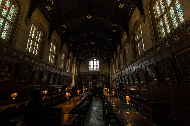 Harry Potter, Oxford, England
