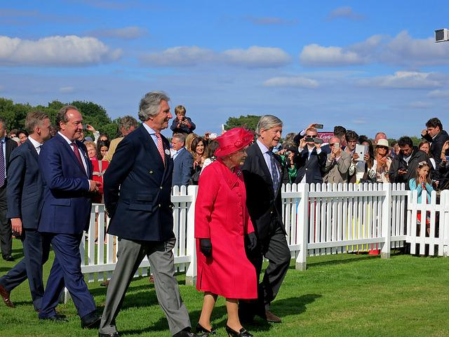 Queen, Elizabeth Ii, Polo Cup, England, Windsor