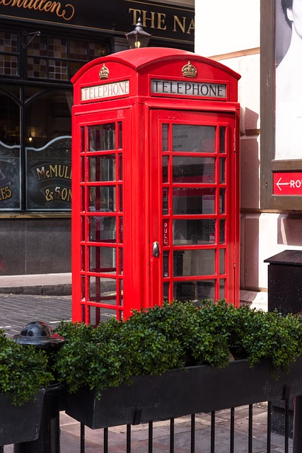 London, Red, Red Telephone Box, Phone, England